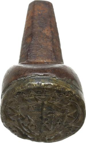 reverse: Sigillo XVI sec. di famiglia nobile non identificata