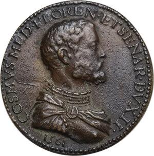 obverse: Cosimo I de  Medici (1537-1574). Medaglia 1561