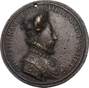 reverse: Ferdinando I de Medici (1587-1609). Medaglia 1592