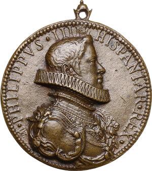 obverse: Filippo IV di Spagna (1621-1665).. Medaglia s.d. (1621)