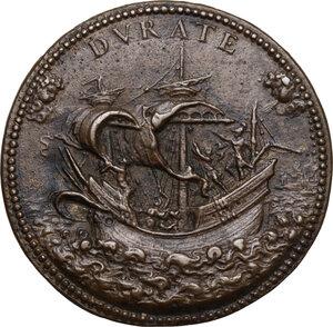 reverse: Antoine Perrenot de Granvelle (1516-1586),  vescovo di Arras, arcivescovo di Malines e viceré del Regno di Napoli. Medaglia s.d