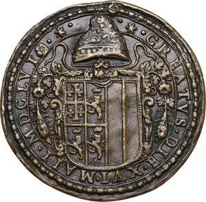 reverse: Francesco Corner (1585-1656).. Medaglia 1656