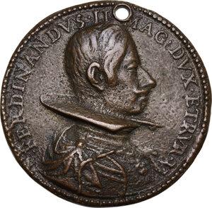 obverse: Ferdinando II de  Medici (1621-1670). Medaglia s.d
