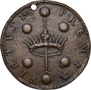 reverse: Ferdinando II de  Medici (1621-1670). Medaglia s.d