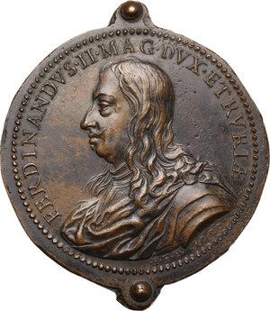 obverse: Ferdinando II de  Medici (1620-1670). Medaglia 1666
