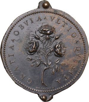 reverse: Ferdinando II de  Medici (1620-1670). Medaglia 1666