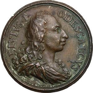 obverse: Livio Odescalchi (1652-1713), Duca di Bracciano. Medaglia s.d. (1687)