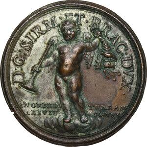 reverse: Livio Odescalchi (1652-1713), Duca di Bracciano. Medaglia s.d. (1687)