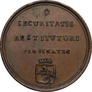 reverse: Giovanni Antonio Benvenuti (1765-1838), cardinale e vescovo anconetano.. Medaglia 1828