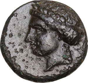 obverse: Caria, Halikarnassos.. AE 12 mm. Mid 4th-3rd centuries BC