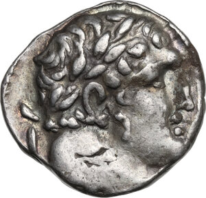 obverse: Phoenicia, Tyre. AR Tetradrachm-Shekel,  Lifetime of Christ issue, dated CY 150 (24-25 AD)