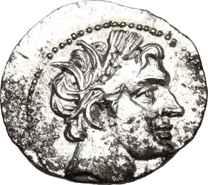 obverse: Akragas. AR Half Shekel. Punic occupation, c. 213-211 BC