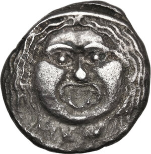 obverse: Etruria, Populonia. AR 20-Asses, after c. 211 BC