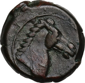 reverse: AE 19 mm. Circa 350/40-320/300 BC. Uncertain mint