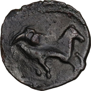 reverse: AE 16.5 mm. Circa 350/40-320/300 BC. Uncertain mint