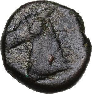 reverse: AE 17 mm. Circa 350/40-320/300 BC. Uncertain mint