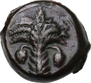 obverse: AE 19.5 mm. Circa 330-300 BC. Uncertain mint
