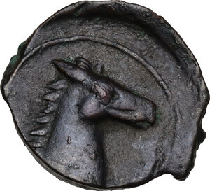 reverse: AE 19.5 mm. Circa 330-300 BC. Uncertain mint