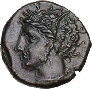 obverse: AE 15.5 mm. Circa 360-330 BC. Uncertain mint