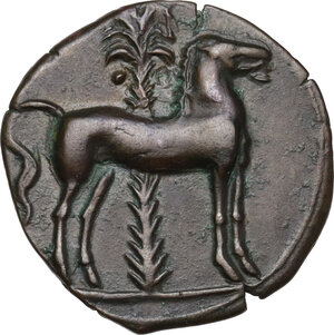 reverse: AE 15.5 mm. Circa 360-330 BC. Uncertain mint
