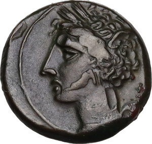 obverse: AE 16 mm. Circa 360-330 BC. Uncertain mint