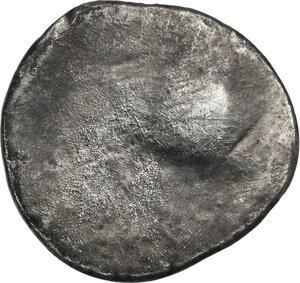 reverse: Etruria, Populonia. AR 5-Asses, 3rd century BC