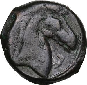 reverse: AE 20 mm. Circa 300-264 BC. Uncertain mint