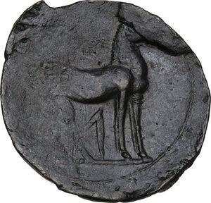 reverse: AE Shekel. Circa  264-238 BC. Uncertain mint