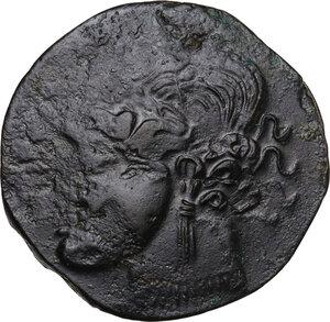 obverse: AE Dishekel. Circa  241-238 BC. Uncertain mint