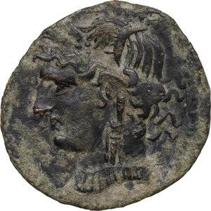 obverse: AE Shekel (?). Circa 241-215 BC. Uncertain mint