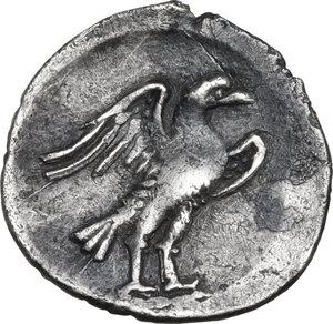 reverse: Central Italy, Alba Fucens. AR Obol, c. 280-275 BC