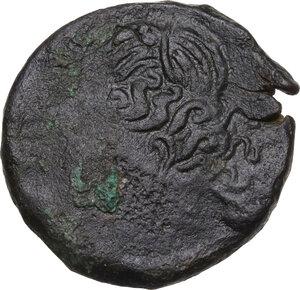 obverse: AE Shekel. Circa 241-215 BC. Uncertain mint