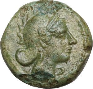 obverse: AE Half-bronze, c. 234-231 BC