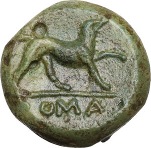 reverse: AE Half-bronze, c. 234-231 BC