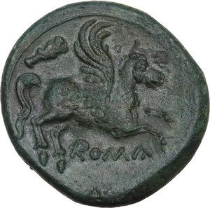 reverse: AE Double Bronze, c. 230-226 BC