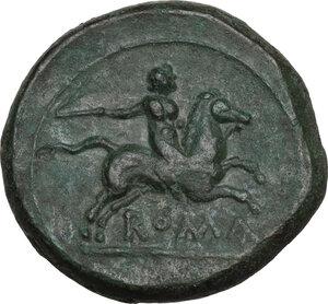 reverse: Anomalous Semilibral series.. AE Semuncia, c. 217-215 BC