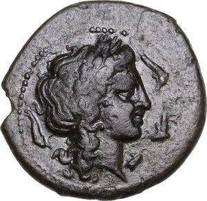 obverse: Central and Southern Campania, Neapolis. AE 21mm. c. 300-275 BC