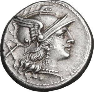 obverse: Cornucopiae (first) series.. AR Denarius, c. 207 BC