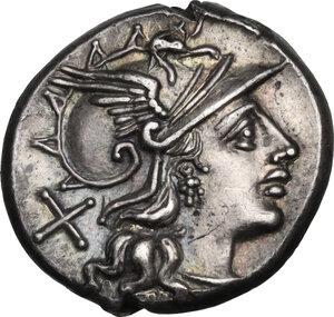 obverse: Pub. Sulla.. AR Denarius