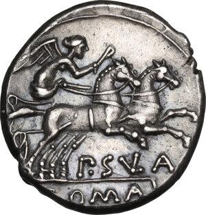 reverse: Pub. Sulla.. AR Denarius