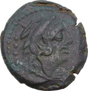 obverse: M. Fabrinius. AE Quadrans, 132 BC
