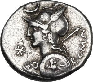 obverse: P. Nerva.. AR Denarius, 113-112 BC