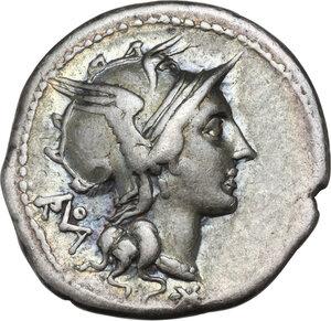 obverse: T. Didius.. AR Denarius, 113-112 BC