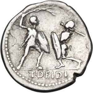 reverse: T. Didius.. AR Denarius, 113-112 BC