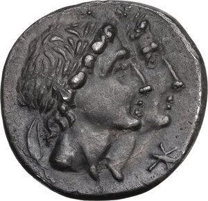 obverse: Mn. Fonteius. AR Denarius, 108-107 BC