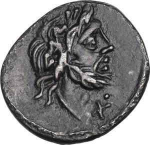 obverse: T. Cloelius.. AR Quinarius, 98 BC