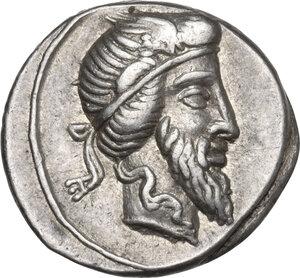 Q. Titius.. AR Denarius, 90 BC