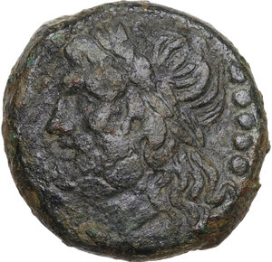 obverse: Northern Apulia, Venusia. AE Quincunx, c. 210-200 BC