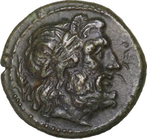 obverse: Southern Apulia, Sidion. . AE 15 mm. c. 300-275 BC