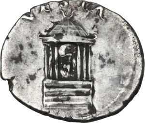 reverse: Nero (54-68).. AR Denarius, Rome mint, struck c. 65-66 AD